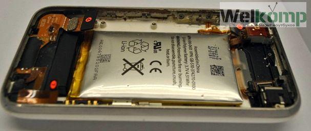 iphone 3gs вздутая батарея