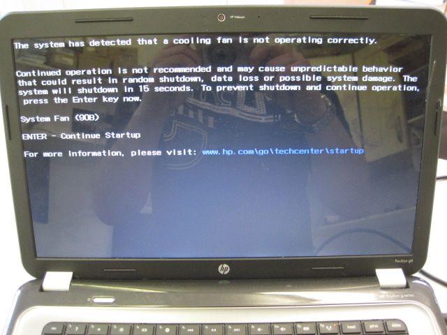 HP Pavilion G6 системного вентилятора 90B