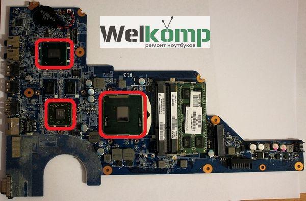 чистим мосты и процессор