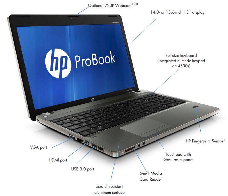 Ноутбук ProBook 4530s