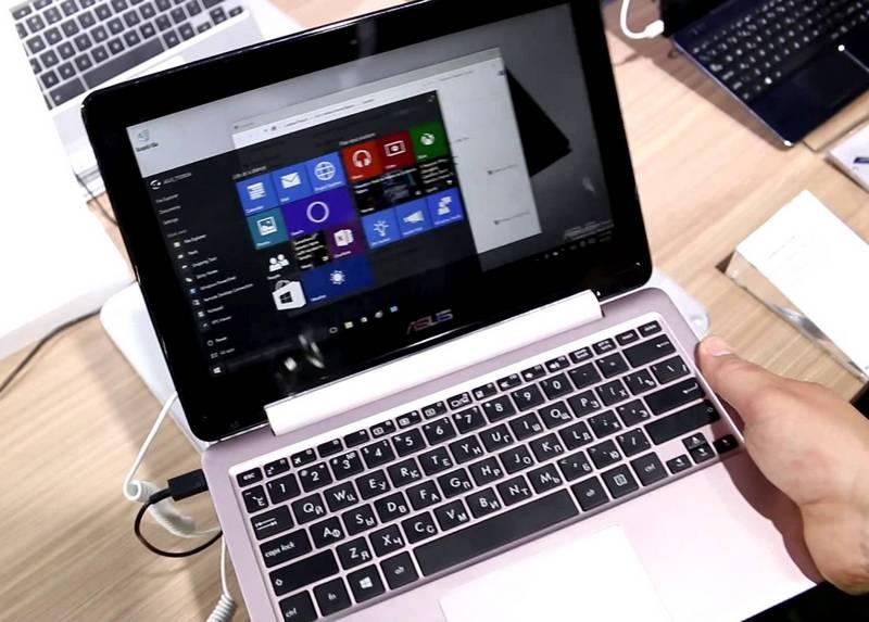 ноутбук Асус TP200SA