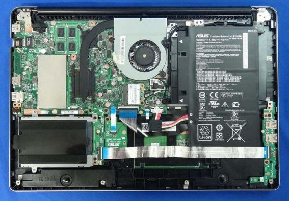 ноутбук Asus TP500