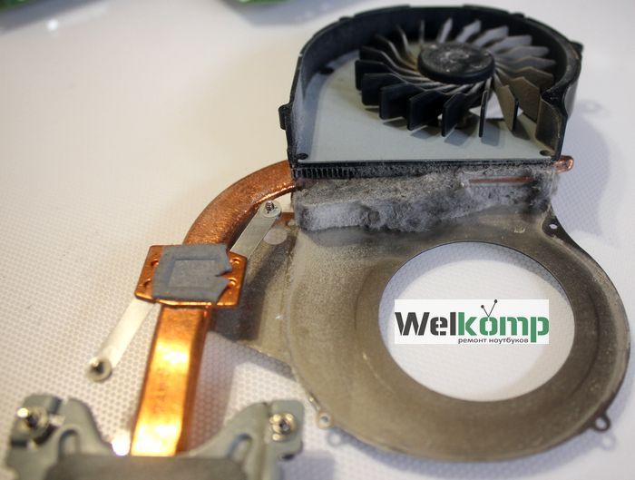 Система охлаждения hp g62