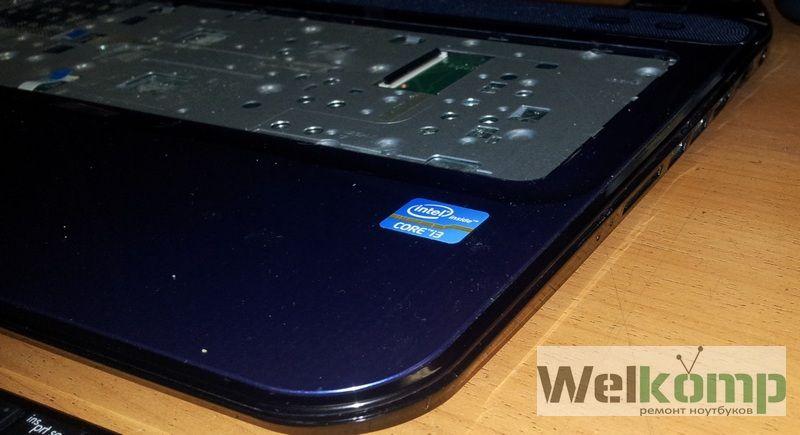 расщепляем корпус ноутбука